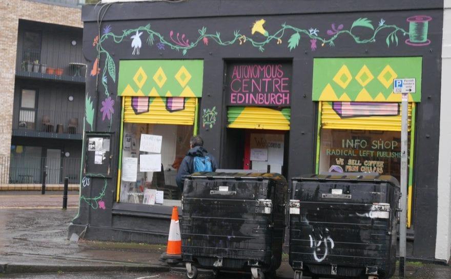 Edinburgh Autonomous Centre building frontage