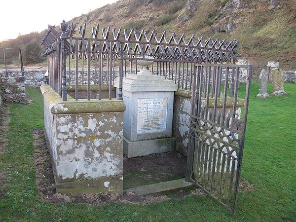 St Cyrus - George Beattie's Grave